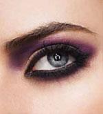 smokey eyes purple