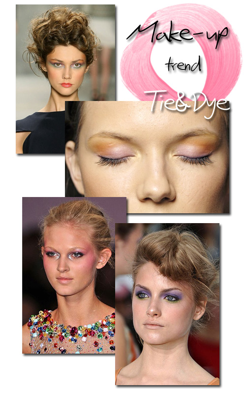 Make-up-trend-tie-en-dye