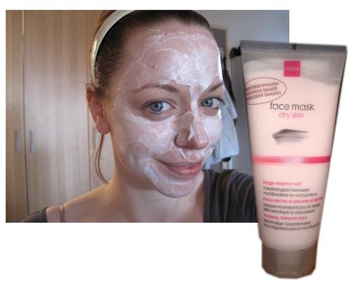gezichtsmasker droge huid