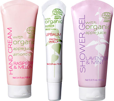 organic beautycollectie