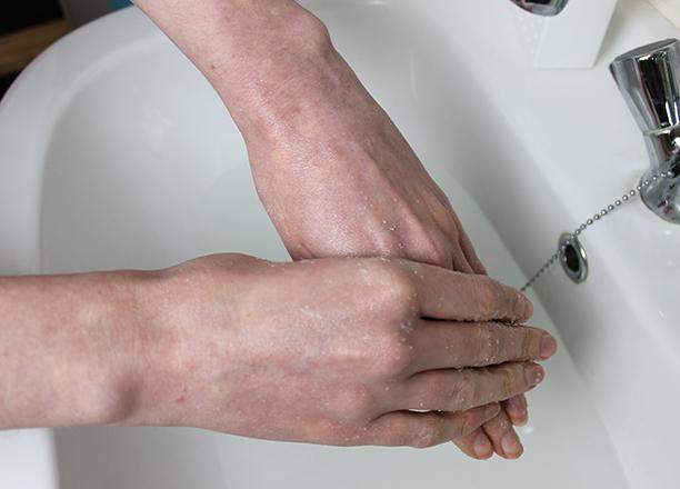 huid scrubben tips
