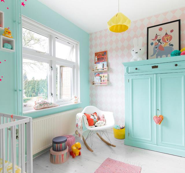 Babykamer inspiratie p s door sanne - Een kamer regelen ...