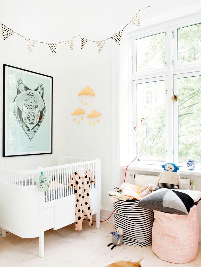 Babykamer inspiratie p s door sanne - Gordijn voor baby kamer ...