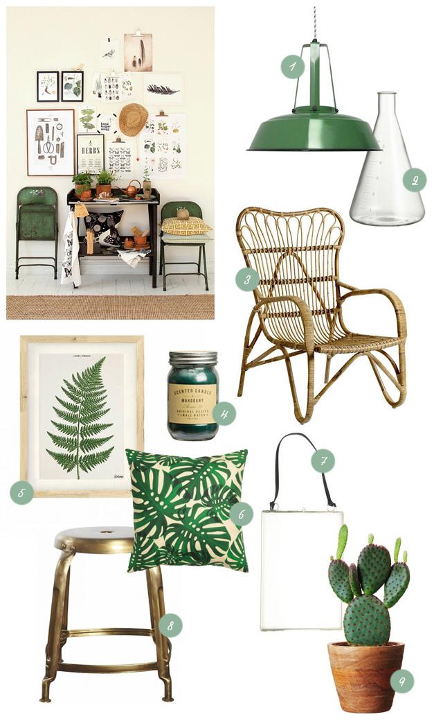 Trend botanisch interieur p s door sanne for Interieur accessoires