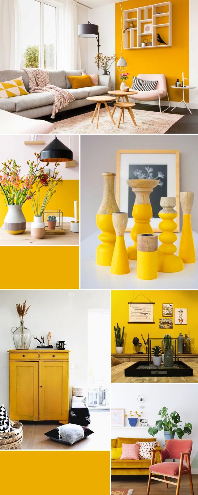 De kleur geel in je interieur p s door sanne for Interieur geel